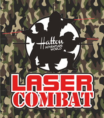 Hatton Adventure World Lazer Combat Badge